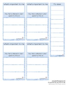 values-sheet