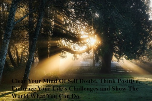 clear-your-mind-of-self-doubt-think-positive-embrace-your-lifes-challenges-and-show-the-world-what-you-can-do