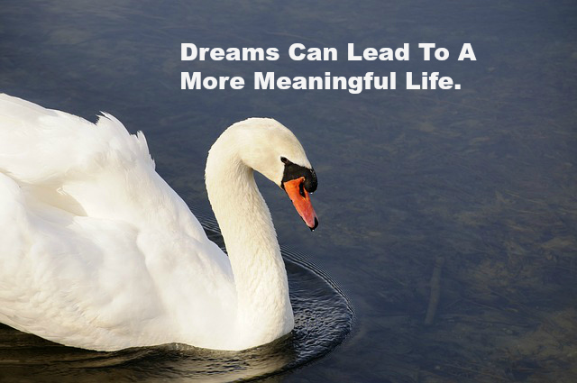 Dreams Can Lead To A More Meaningful Life.