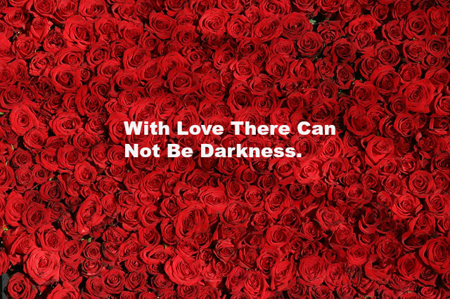 With Love There Can Not Be Darkness 1